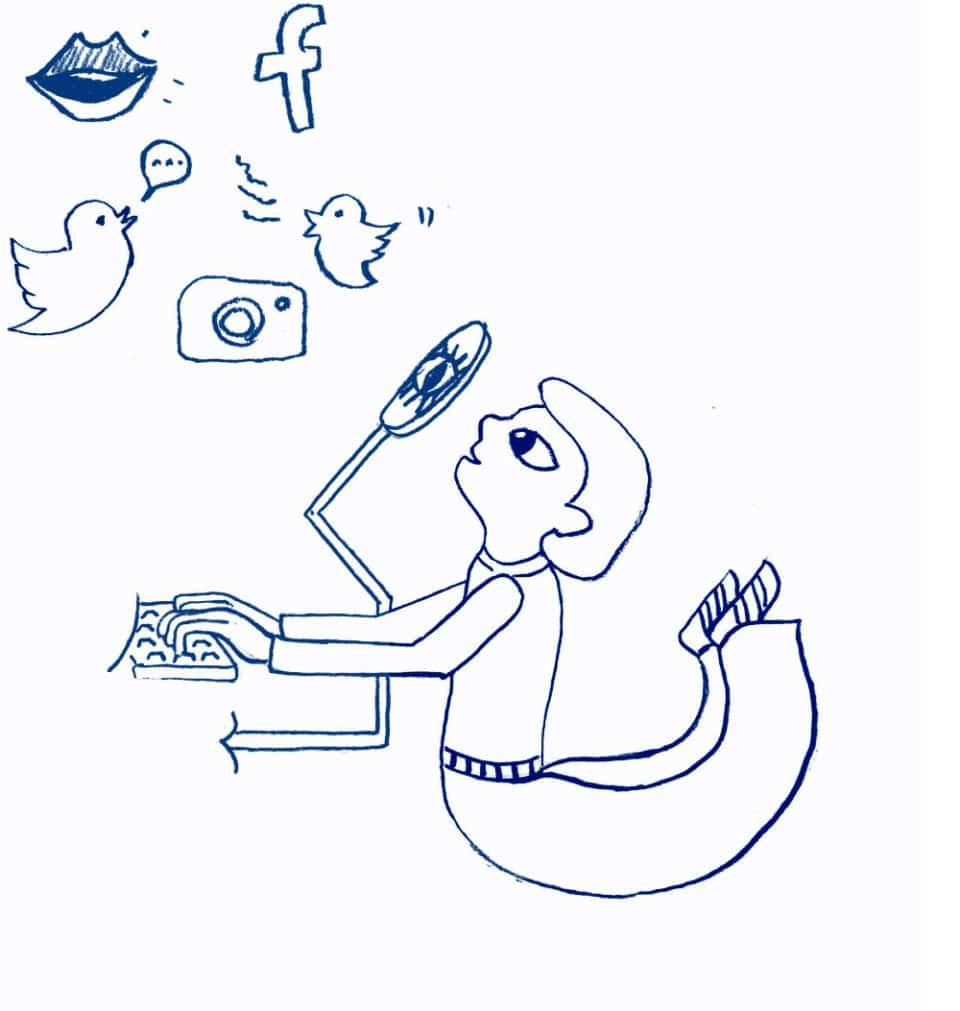 Symbolbild-SocialMediaBeobachtung